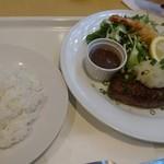 66 Kitchen - ハンバーグエビフライ