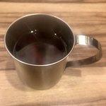 テキサスステーキ - アメリカンコーヒー