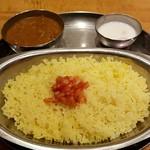 インド定食 ターリー屋 - ライス中