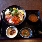 北の味紀行と地酒 北海道 - 海鮮丼1480円税込