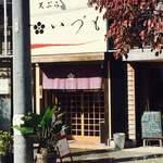 天ぷら いづも - 外観。JR高架下にあります。