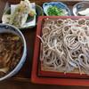 椿寿庵  - 料理写真:たっぷりきのこのあんかけつけ麺そば