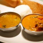 マハラジャ - サームバー・野菜カレー