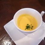 ビストロ オランジュ - 料理写真:南瓜のスープ