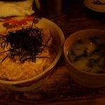 がじゅまる - 裏メニュー「和風野菜丼」