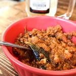 ケバブカフェ ワク - コロシテバーデンジャン(ナスとひき肉のトマト煮)