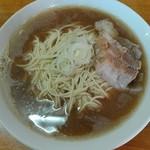 75883285 - 肉そば(麺、スープ大盛)