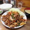 来々軒 - 料理写真:スタミナ定食800円(内税)。