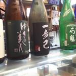 かわなみ鮨 - 日本酒色々