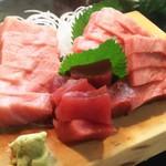 かわなみ鮨 - マグロ刺身盛合せ
