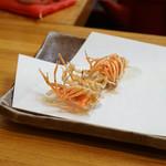 ほり井 - 料理写真:海老の頭