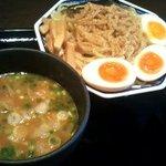 麺屋ゆうき - しょうゆつけ麺\780+味玉¥100