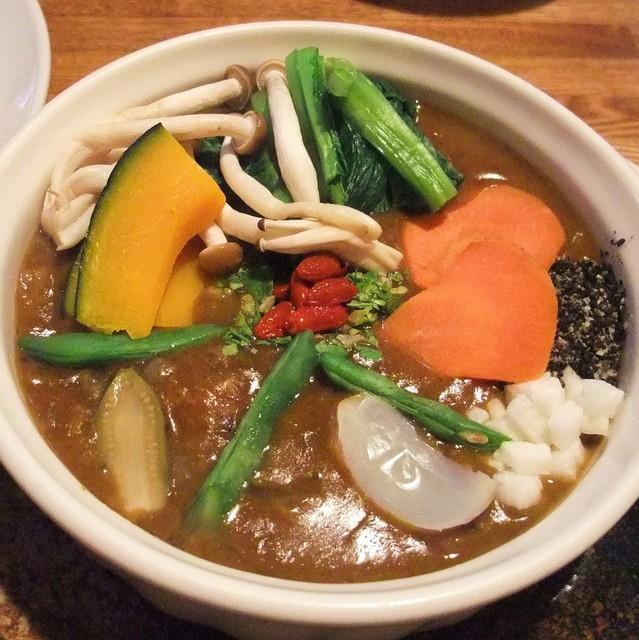 薬膳カレーじねんじょ 谷中店 - 野菜カレー