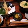 いろり家 - 料理写真:竹取うどんセット、玉子とじうどん