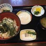 匹見峡温泉やすらぎの湯 - 料理写真:わさびとろろ丼 by masakun