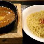広東炒飯店 - 【(限定) 石焼濃厚麻婆カレーつけめん】¥1030(税抜)