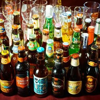 6ジャンルのクラフトビールをお料理と合わせてお愉しみください
