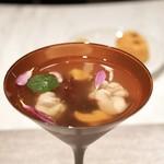 グランド ダイア - ☆雲海:冬の海 冷製スープ