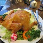 隠れ家個室居酒屋 鶏の久兵衛 - 鶏の丸揚げ