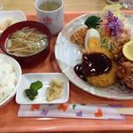 喫茶オレンジ - コロッケ&唐揚げ