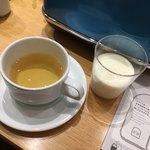 セントル ザ・ベーカリー - アンフュージョン(ハーブティー)、自社牧場の牛乳