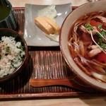 豊年屋 - 田舎蕎麦膳 1050円
