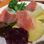 ミュゼオデラファリーナ - 蒸し野菜のサラダ