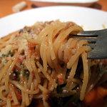 ミュゼオデラファリーナ - 岩手牛と黒豚のトマトスパゲティー