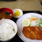 レストラン ペッパーミル - 料理写真:とんかつ定食