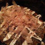 霞 - 豚入りお好み焼き