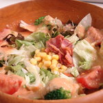 洋食屋キッチンKAZU - 野菜たっぷりサラダスパゲッティー