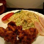 一夢 - 料理写真:味、ボリューム共満足のゴールデンチキンの唐揚げ