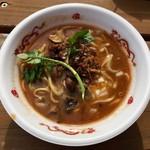 中華蕎麦 とみ田 - 「牛の味噌 大地」850円(松戸モリヒロフェスタ)