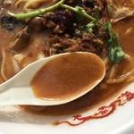 中華蕎麦 とみ田 - 牛の旨味ギッシリの濃厚スープ(松戸モリヒロフェスタ)
