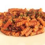 75901162 - 色々な魚介のラグーのトマトソース・フジッリブカティ