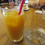 カフェ&レストラン グリーンテーブル - オレンジジュース