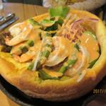 カフェ&レストラン グリーンテーブル - 海老とアボカド