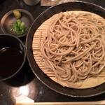 魚料理を食べて蕎麦で〆る店 高木 - 蕎麦大盛り1枚目