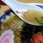 龍上海 - スープの感じ