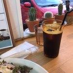 ザ サンドイッチ クラブ - このアイスコーヒー、美味しい!!さすが、MAKAPさん。