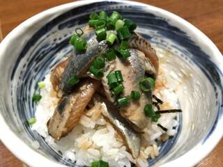 寿製麺 よしかわ - いわし丼 380円