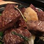 75905806 - 宮崎牛の横隔膜‼️初体験でしたが、美味い‼️