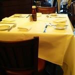 ウルフギャング・ステーキハウス - テーブル