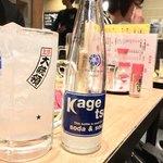 もつ焼き 大統領 - 酎ハイ(レモン) 350円