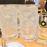 北海道マルハ酒場 - メガお疲れ様ハイボール 600円×3