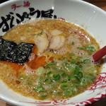 ラー麺 ずんどう屋 - 元味HOTらーめん840円