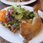 TROMPETTE - 鶏モモ肉のコンフィ