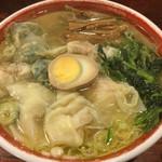 広州市場 - 三種盛り雲呑麺