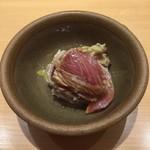 鮨 ミ雲 - 鰤山葵和え