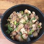 百麺 - チャーシューご飯